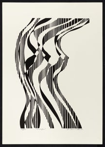Image of Nude 3 - Lithograph of Nude