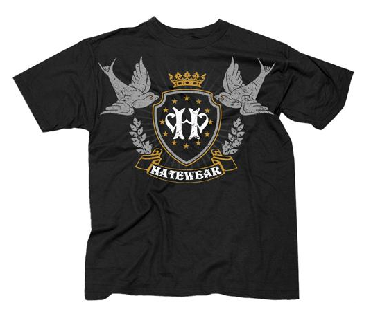 Image of Hatewear Crown/Sparrows Shirt
