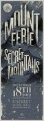Image of AON Presents: Mount Eerie w/ Secret Mountains