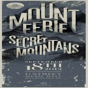 Image of AON Presents: Mount Eerie w/ Secret Mountains