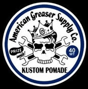 Image of 40Wt. Kustom Pomade 4oz. Tin Cans