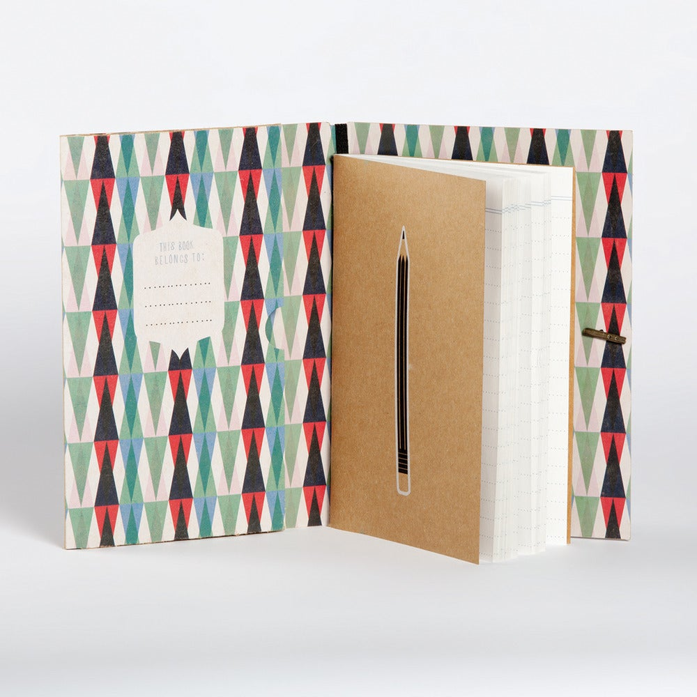 Image of Kitty-Cat Lined Pocket Book