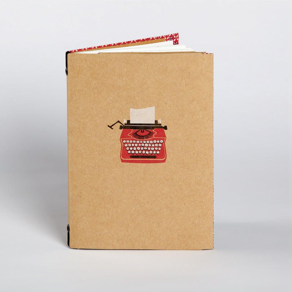 Image of Typewriter Lined Pocket Book