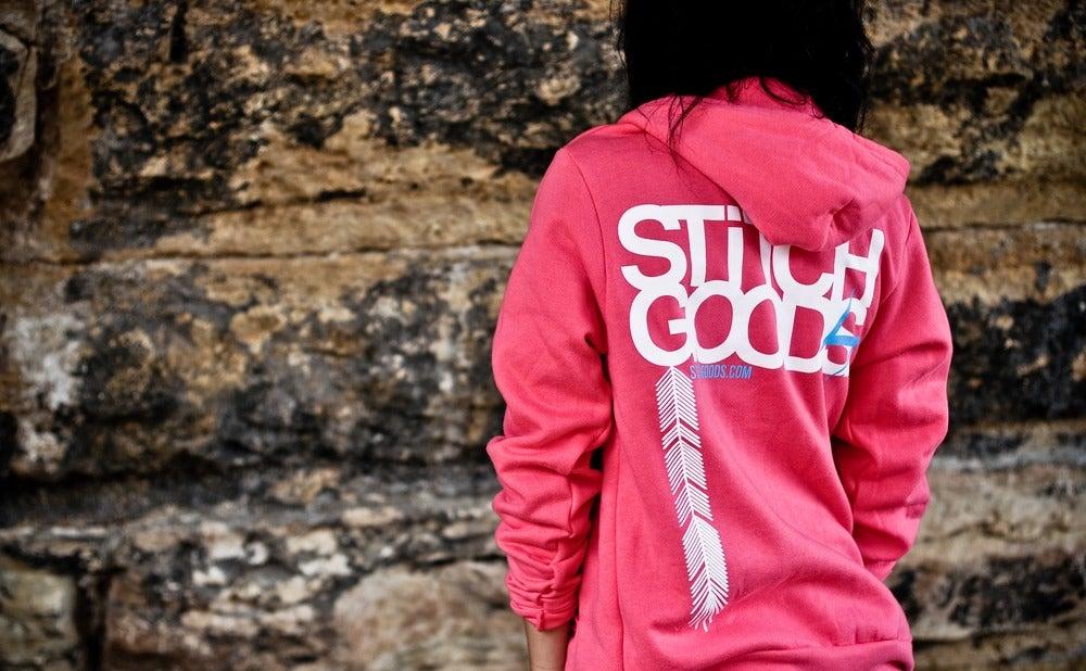 Image of Pink Love Hoodie