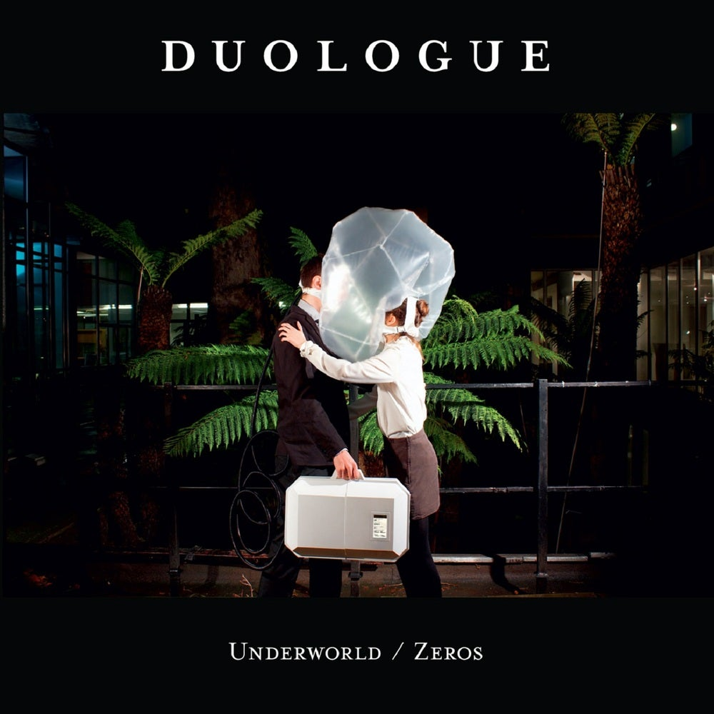 "Image of Duologue - ""Underworld/Zeros"" Single - Transparent 7"" - (KMRLP009)"