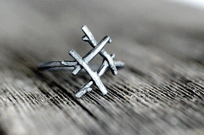 Image of INGUZ rune ring