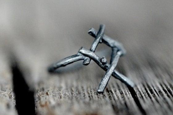 Image of OTHALA rune ring