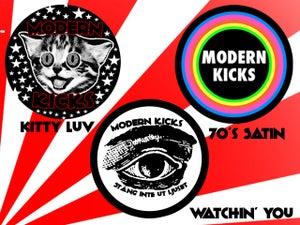Image of Modern Kicks button