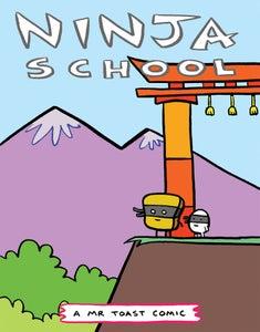 Image of Ninja School - a Mr Toast Comic