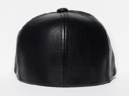 Image of Phantom Cap - Black Leather