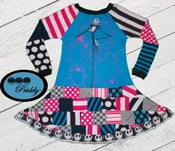 Image of **SOLD OUT** Nightmare Before Christmas Patchwork Dress - Size 5/6