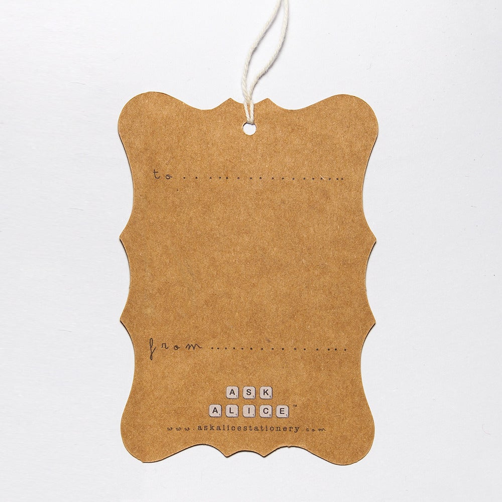 Image of 6 Snip Gift Tags