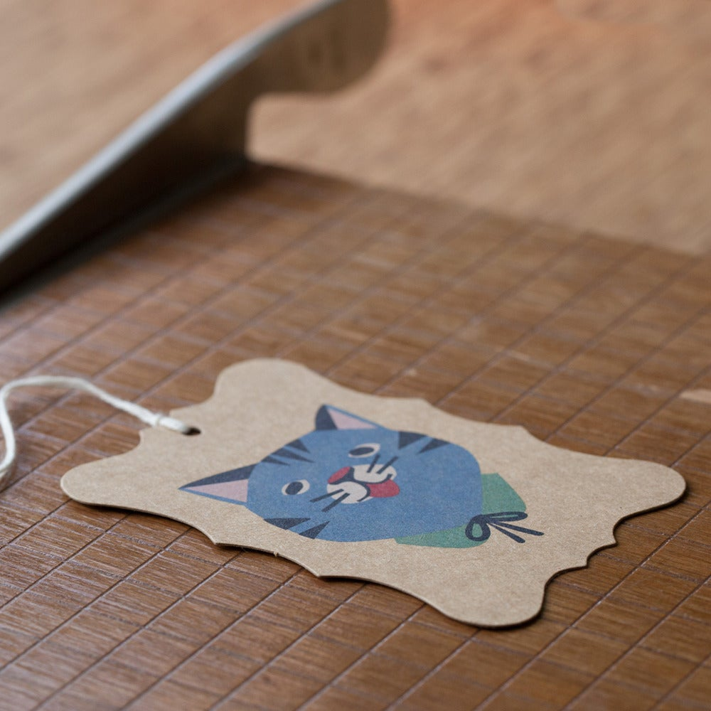 Image of  6 Kitty-Cat Gift Tags