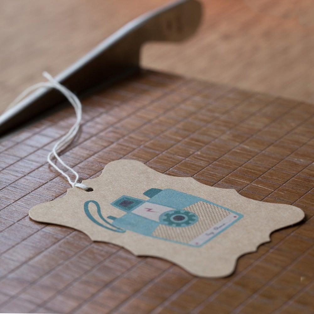 Image of 6 Camera Gift Tags