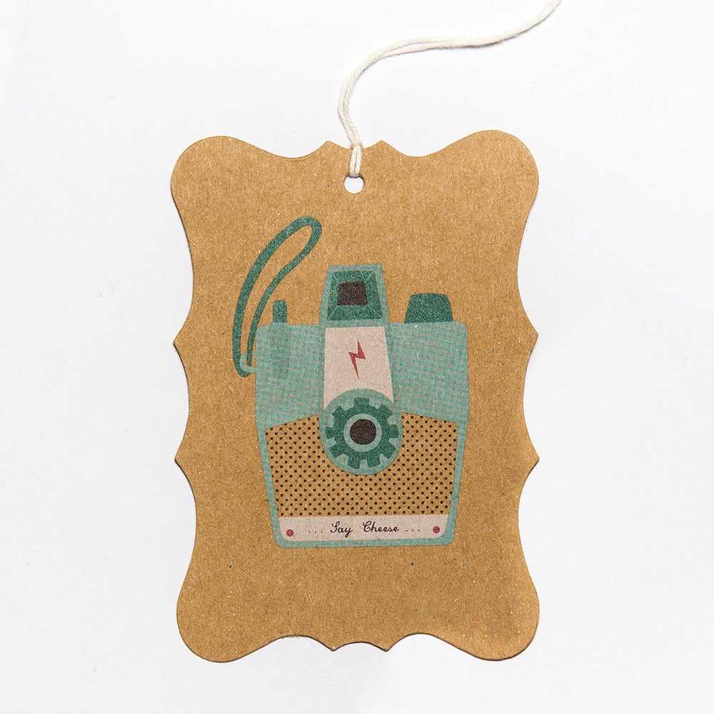 Image of 6 Camera Gift Tags