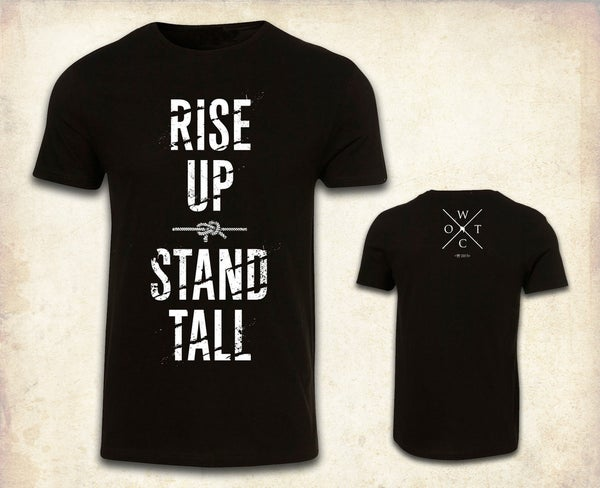 Image of Rise Up, Stand Tall Tee