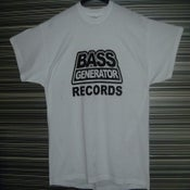 Image of Classic Retro Bass Generator Records Tee Shirt