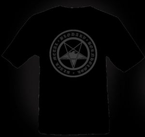 "Image of BLODARV T-shirt ""Bornholmsk Black Metal"" 2012"