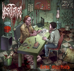 """Image of Necrotorture """"Gore Solution"""" CD"""