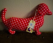 Image of Moca the Sausage Dog - Spotty