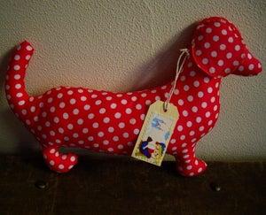Image of Moca the Sausage Dog - Spotty