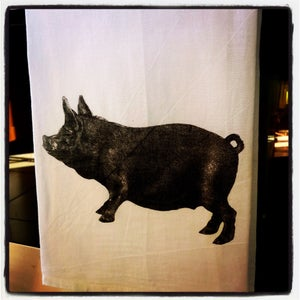 Image of Farm Pig Kitchen Towel