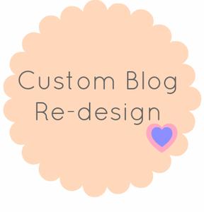 Image of Custom Blogger Design