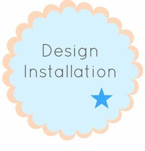 Image of Blogger Design Installation