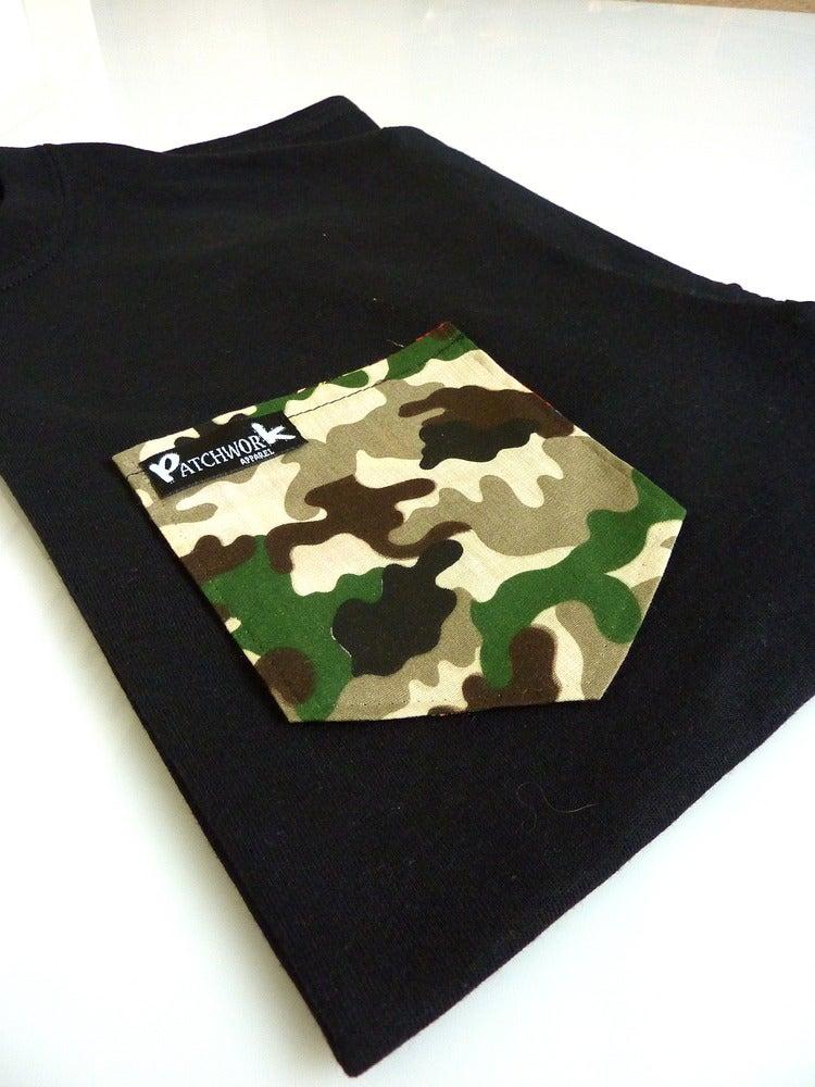 Image of Camo Pocket T-shirt