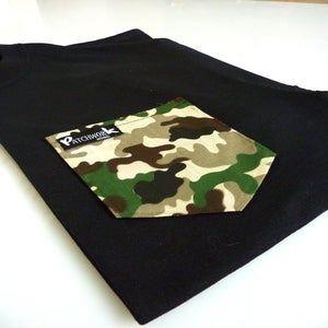 Image of Camo Pocket T-shirt Unisex