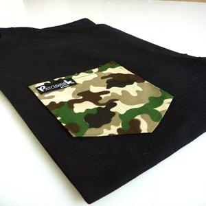 Image of Camo Pocket T-shirt Unisex