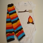 Image of Campfire Toasted Marshmallow Set with Fall Fun Leg Warmers