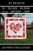 Image of My Valentine Quilt Pattern PDF