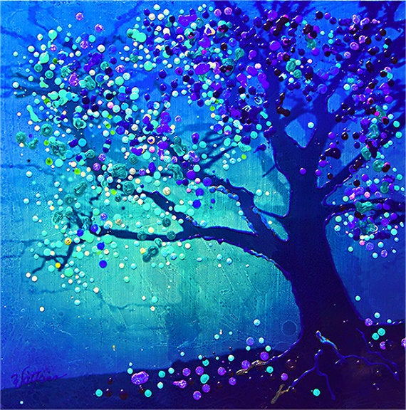 Image of The Firefly Tree - Eternal Cycles Of Life
