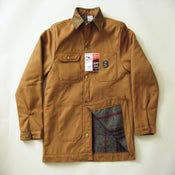 Image of Pointer Brand x Buckshot Sonny's Brown Duck Barn Coat
