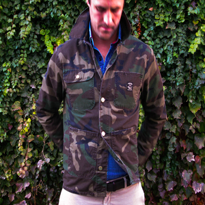 Image of Pointer Brand x Buckshot Sonny's Camouflage Chore Coat