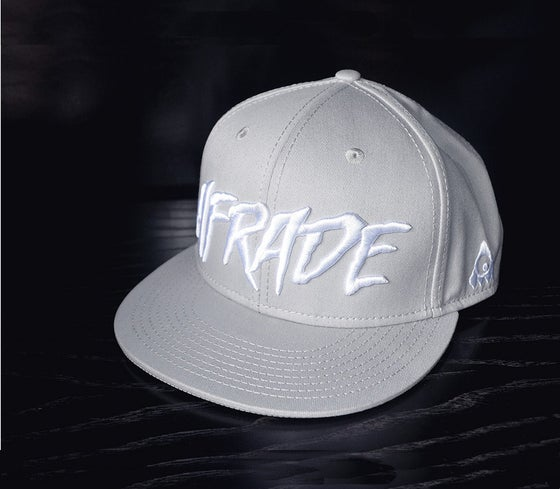 Image of Cool Grey Afrade Snapback