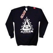 "Image of Mens ""All Eyes On Me"" Crew Neck Sweater"