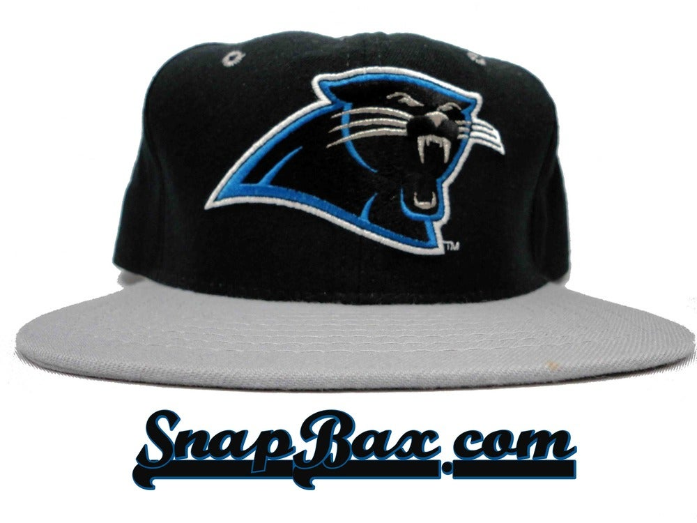 Image of Vintage Deadstock Carolina Panthers New Era Snapback Hat Cap