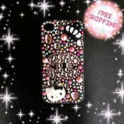 Image of hello kitty and chanel inspired iphone 4 & 4s case