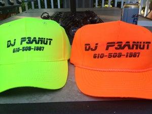 Image of DJ P3ANUT Black Light Hat