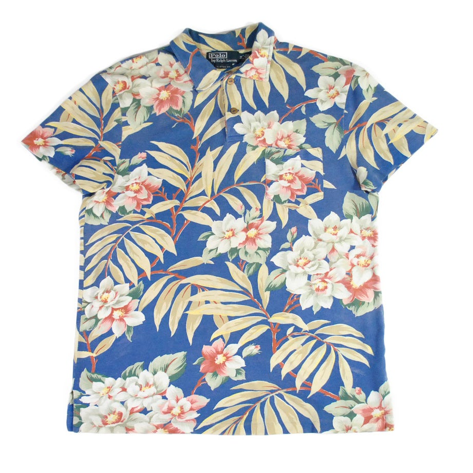 greater goods co polo ralph lauren hawaiian shirt