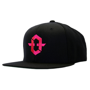 Image of Tru Freedom Snapback (Black/Magenta)