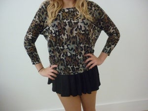 Image of Camouflage Top
