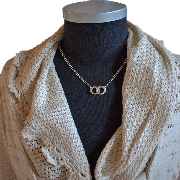 "Image of Sterling Silver Necklace ""Elvira"""