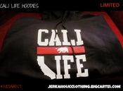 Image of #CALILIFE (BLACK HOODIES )
