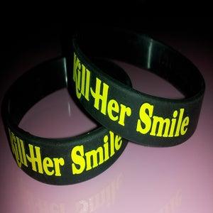 Image of KHS Black & Yellow Wristband