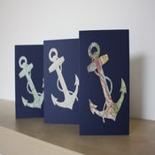 Image of A6 sized Anchor Card