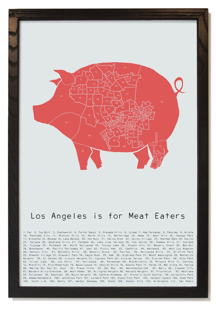 Image of Los Angeles is for Meat Eaters