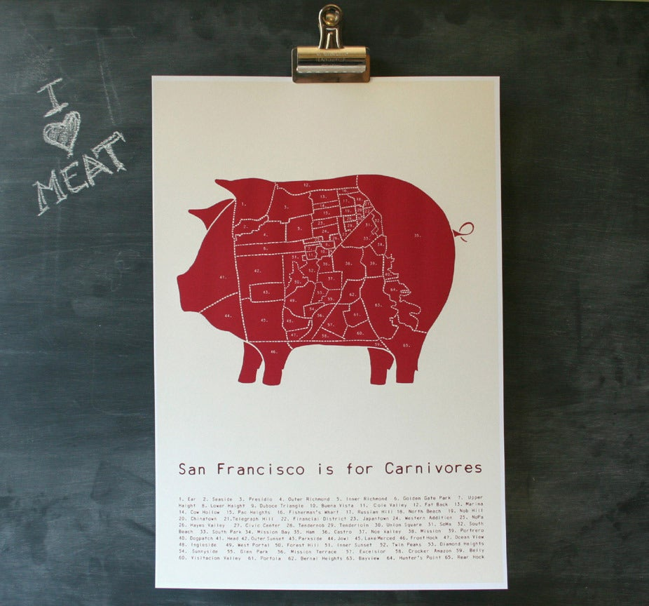 Image of San Francisco is For Carnivores